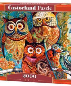 จิ๊กซอว์ 2000 ชิ้น Owls