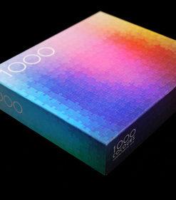 จิ๊กซอว์ 1000 ชิ้น CMYK Colors