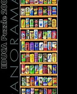 จิ๊กซอว์ 2000 ชิ้น Soft Cans Panoramic educ 1