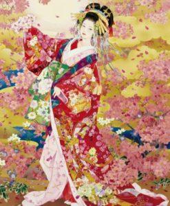 จิ๊กซอว์ 1000 ชิ้น Japanese Art Kimono epoc 4