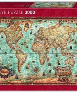 จิ๊กซอว์แผนที่โลก Heye