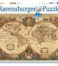 จิ๊กซอว์ 5000 ชิ้น Antique World Map rave 18