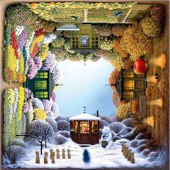 จิ๊กซอว์ 1000 ชิ้น The Four Seasons Garden schm 1
