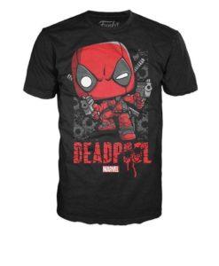 เสื้อยืด Marvel Deadpool Guns