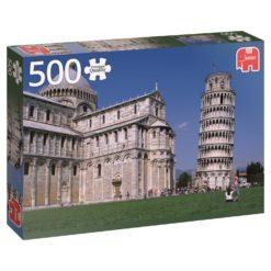 จิ๊กซอว์ 500 ชิ้น Leaning Tower Of Pisa
