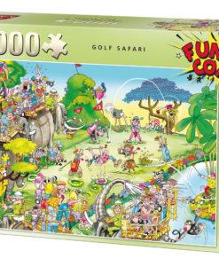 จิ๊กซอว์ 1000 ชิ้น Golf Safari