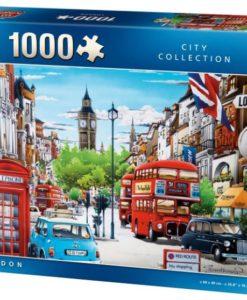 จิ๊กซอว์ 1000 ชิ้น King LONDON