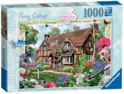 จิ๊กซอว์ 1000 ชิ้น Peony Cottage