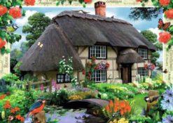 จิ๊กซอว์ 1000 ชิ้น River Cottage
