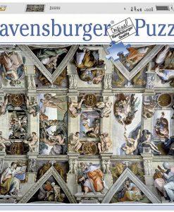 จิ๊กซอว์ 5000 ชิ้น Sistine Chapel