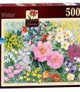 จิ๊กซอว์ 500 ชิ้น The Cottage Garden No 4 Winter