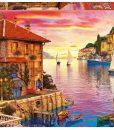 จิ๊กซอว์ 5000 ชิ้น The Mediterranean Harbor
