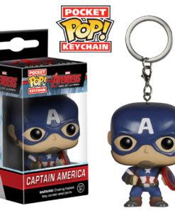 พวงกุญแจตุ๊กตา Funko Captain America