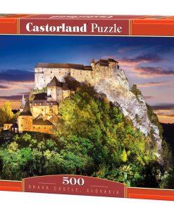 จิ๊กซอว์ 500 ชิ้น Orava Castle Slovakia
