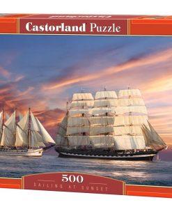 จิ๊กซอว์ 500 ชิ้น Sailing At Sunset