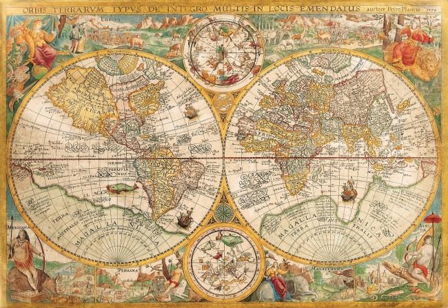 จิ๊กซอว์ 2000 ชิ้น Ancient World Map