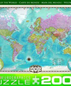 จิ๊กซอว์ 2000 ชิ้น Map of The World