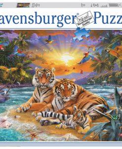 จิ๊กซอว์ 2000 ชิ้น Tiger Family