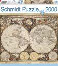 จิ๊กซอว์ 2000 ชิ้น Historical Map of the World