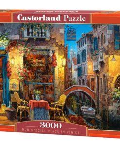 จิ๊กซอว์ 3000 ชิ้น Castorland Our Special Place In Venice