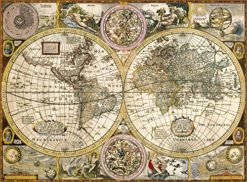 แผนที่โลกยุคเก่า
