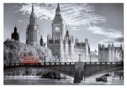 จิ๊กซอว์ 1000 ชิ้น London Bus