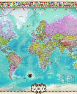 จิ๊กซอว์ 1000 ชิ้น World Map