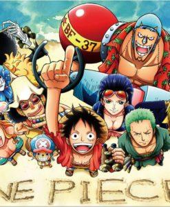 จิ๊กซอว์ลายการ์ตูน One Piece
